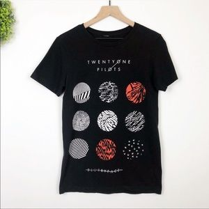 Twenty One Pilots Blurry Face Album Band Tee